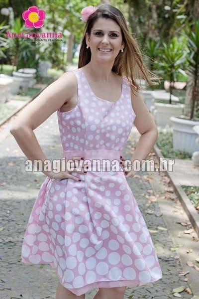 vestido adulto minnie rosa