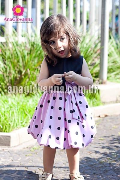 vestido da minnie rosa baby