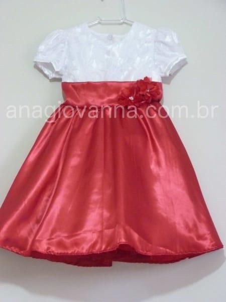 Vestido Infantil da M�nica