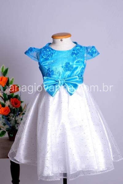 Vestido Frozen Elsa