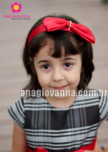 tiara vermelha infantil
