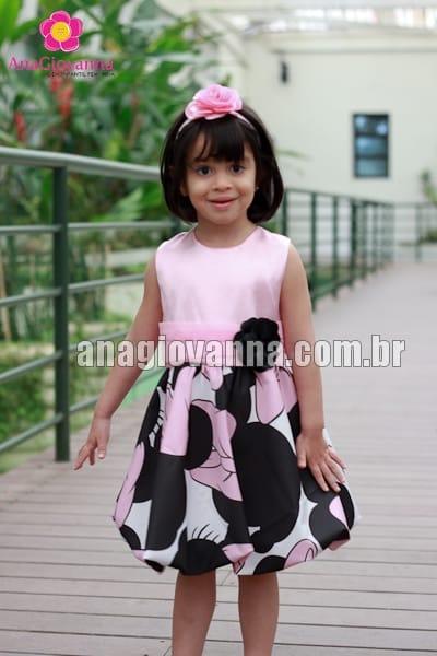 vestido da minnie infantil baby