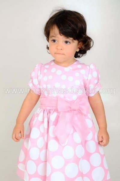vestido da minnie rosa