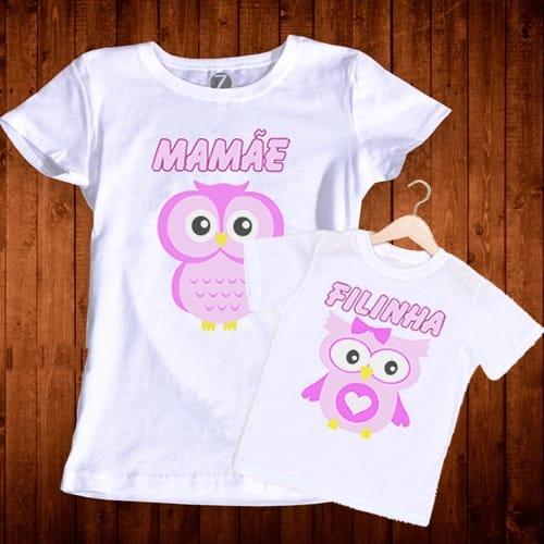Camisetas Mãe e Filha