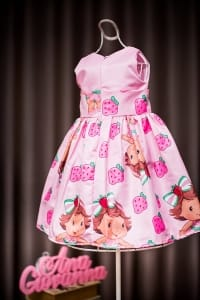 Vestido da Moranguinha Baby