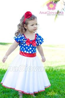 vestido infantil tema galinha pintadinha