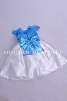 Vestido da Frozen Elsa