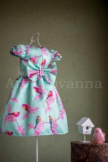 Vestido Infantil Pássaros
