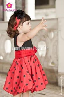 vestidos joaninha