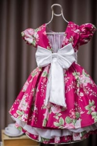 Vestido Festa Infantil Floral