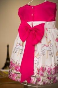 Vestido Infantil Carrosel
