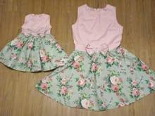 Vestidos Jardim Mãe e Filha