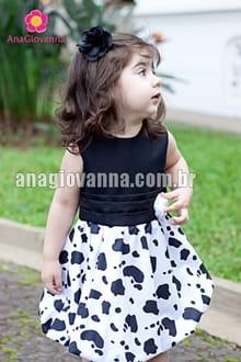 vestido caipira feminino infantil