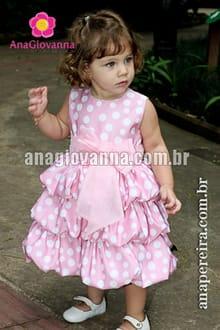 vestido festa da minnie rosa