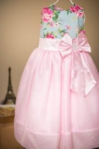 Vestido Infantil de Festa Para Festa