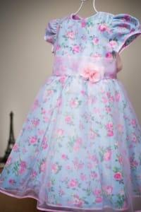 Vestido Infantil Princesa