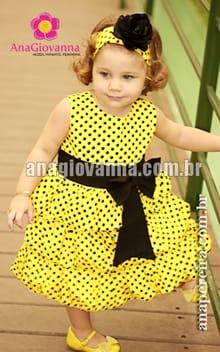 vestido balone infantil
