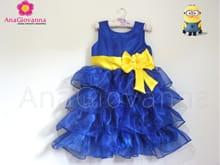 vestido tema minions