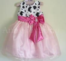 Vestido Fazendinha Rosa
