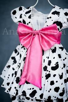 Vestido da Fazendinha Pink