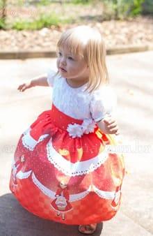 Vestido da Chapeuzinho Vermelho