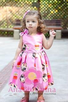 vestido infantil da dora