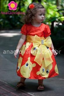 vestido da tasha infantil