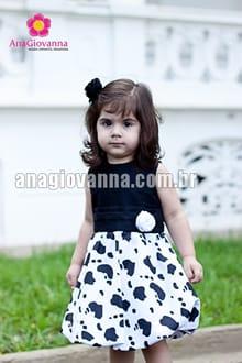 vestido caipira infantil luxo