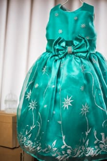 Vestido Infantil Frozen Fever