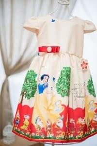 Vestido da Branca de Neve