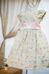 Vestido Corujinha Infantil