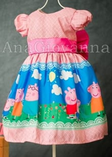 Vestido Peppa Pig Rosa