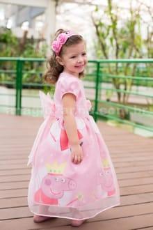 Vestido da Peppa Pig Fada