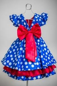 Vestido de Festa Galinha Pintadinha