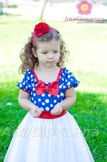 vestido infantil da galinha pintadinha