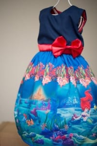 Vestido da Pequena Sereia Ariel