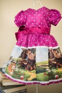 Vestido Infantil Tema Masha e o Urso