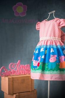 Vestido Peppa Pig Luxo