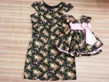 Vestidos Mãe e Filha Floral