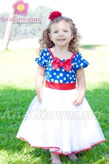 vestido infantil galinha pintadinha fashion