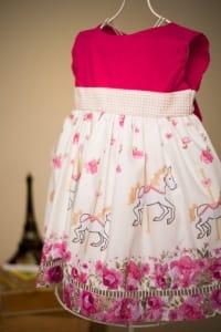 Vestido Carrosel Infantil