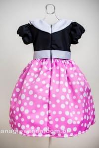 Vestido da Minnie rosa para festa