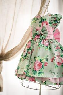 Vestido Infantil Chá das Bonecas