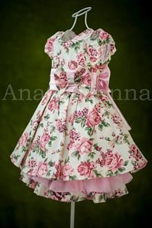 Vestido de Festa Infantil Jardim