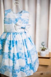 Vestido Infantil Nuvem