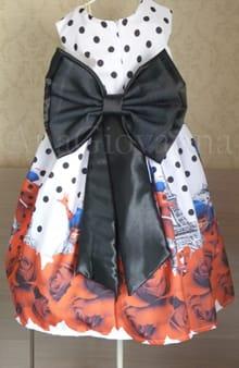 Vestido Infantil da lady Bug
