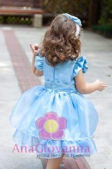 vestido infantil alice