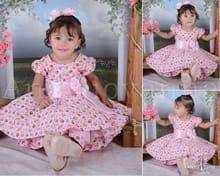 Vestido Infantil Passarinhos