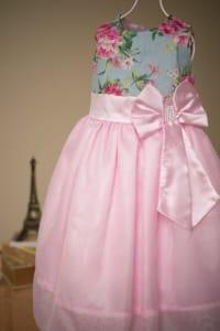 Vestido Infantil de Festa
