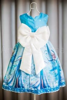 Vestido da Elsa Frozen